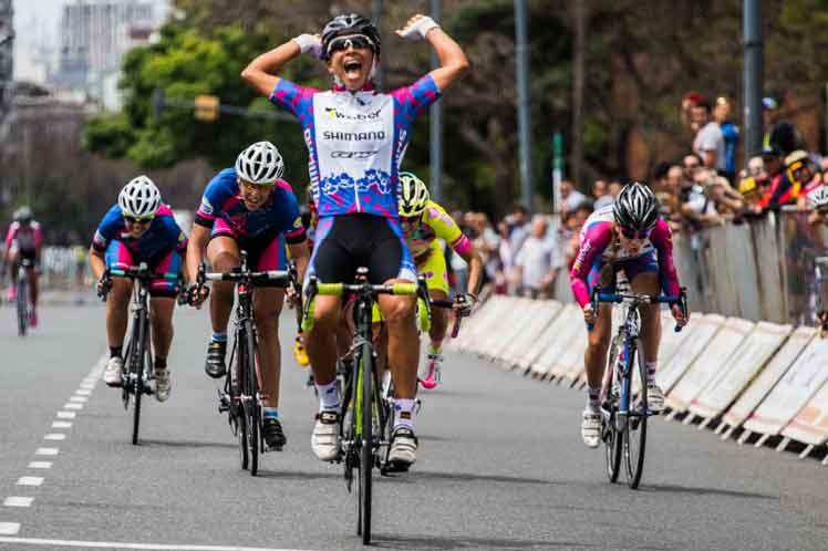 Cubana Mejías ganó Clásica de Ciclismo en Arlington