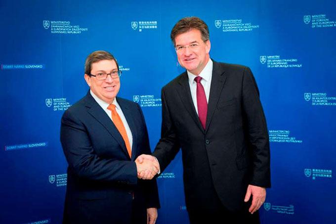 Cuba y Eslovaquia por ampliar los nexos en diversos sectores