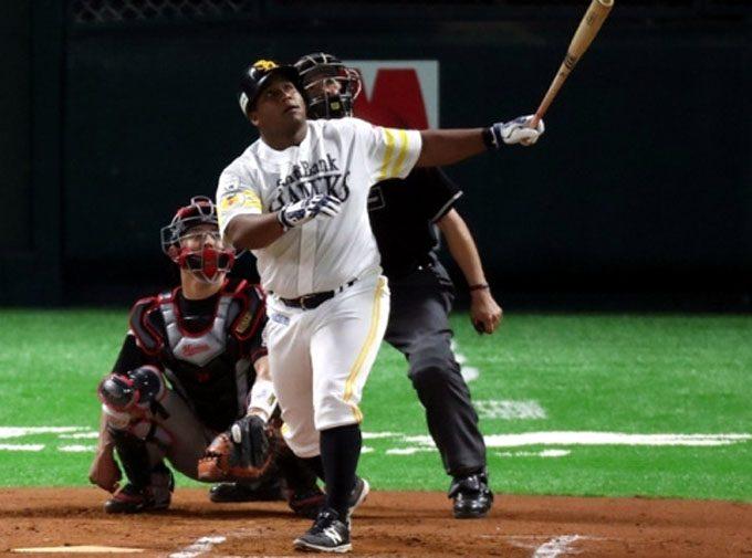 Cuban slugger Despaigne to DL in Japanese baseball