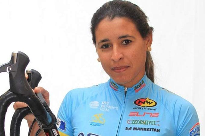 Arlenis Sierra, primera ciclista cubana en el Giro de Italia