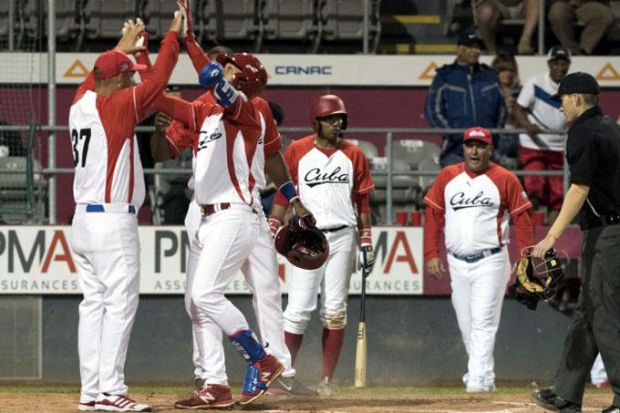 En béisbol, Cuba derrotó 8-4 a Águilas de Trois Rivieres