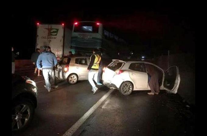 Feriados dejan saldo de 16 muertos y 492 heridos en Chile
