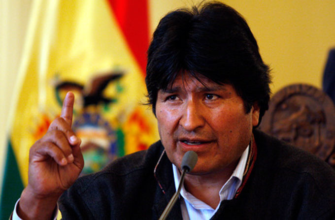 Evo Morales invita a Conferencia de los Pueblos en Bolivia