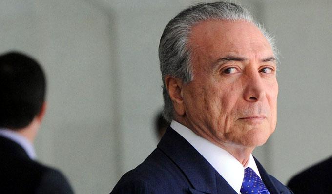 Michel Temer enfrenta en Brasil semana decisiva para supervivencia