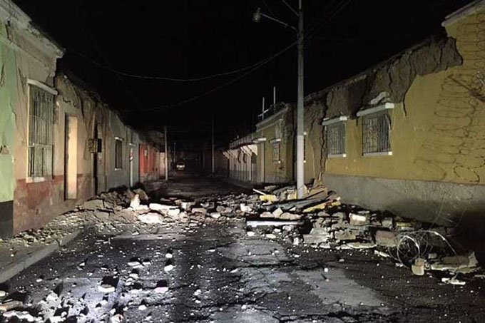 Dos muertos y otros daños por terremoto de 6.6 grados en Guatemala