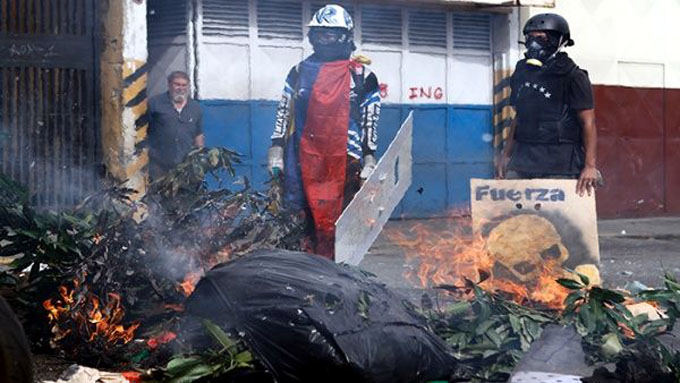 Desarticulan células violentas en Venezuela y revelan plan golpista