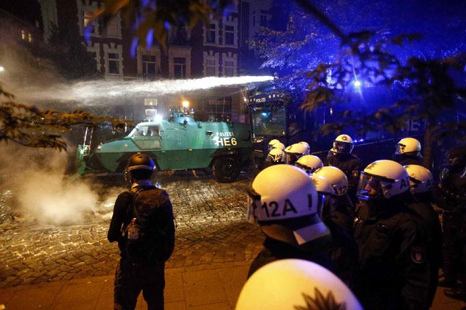 Empieza cumbre del G20 en Hamburgo en medio de protestas