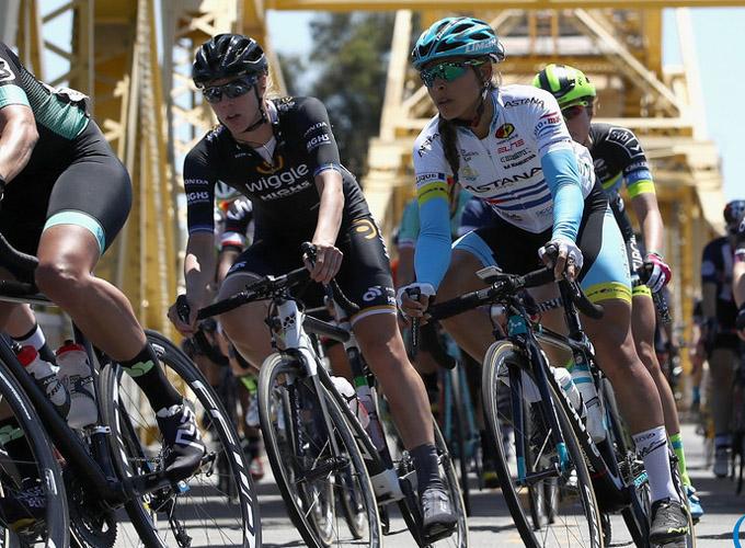 Ciclista cubana Sierra por escalar en Giro de Italia (f)