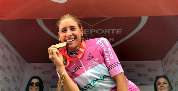 Granmense Arlenis Sierra gana por segunda vez la vuelta a Costa Rica