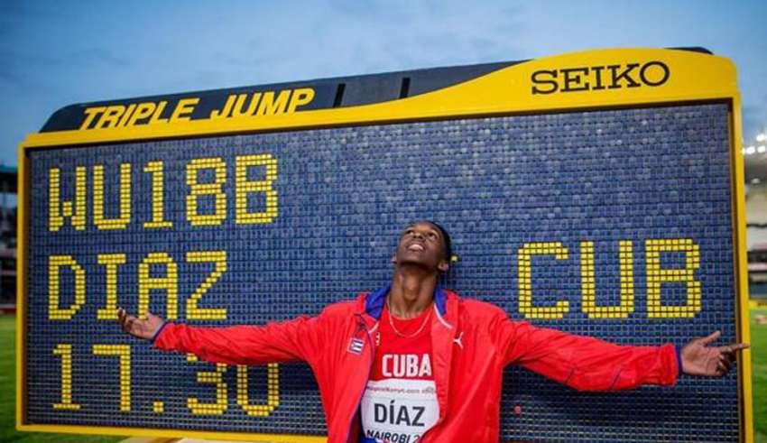 Histórica actuación de Cuba en Mundial de atletismo para cadetes