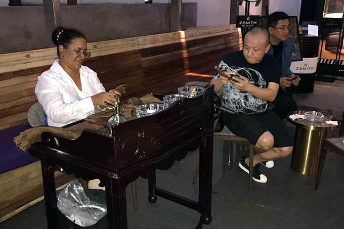 Habanos, una excelente acogida en el monopolio chino del Tabaco