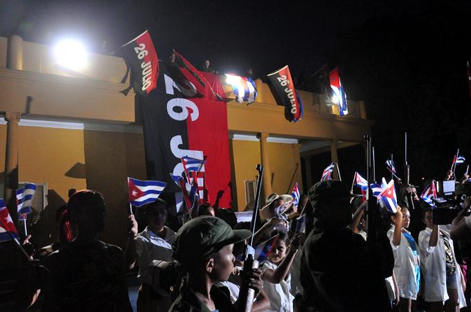 Rememoran acciones del 26 de Julio en Bayamo (+ fotos)