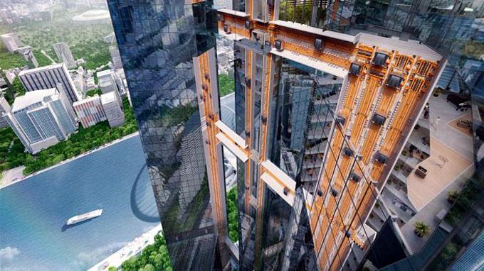 Diseñan elevador que funcionará sin cables