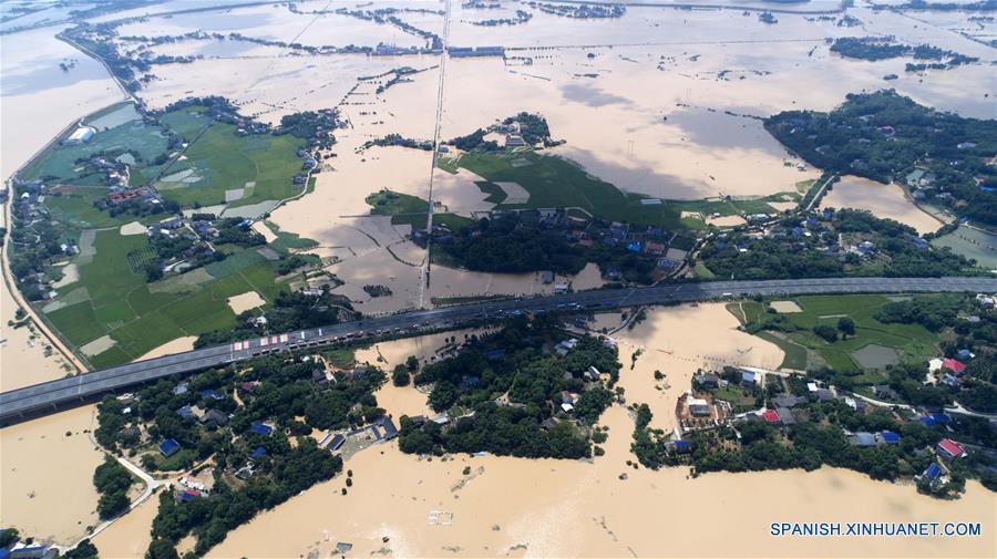 Dieciséis muertos y diez desaparecidos por inundación en sur de China