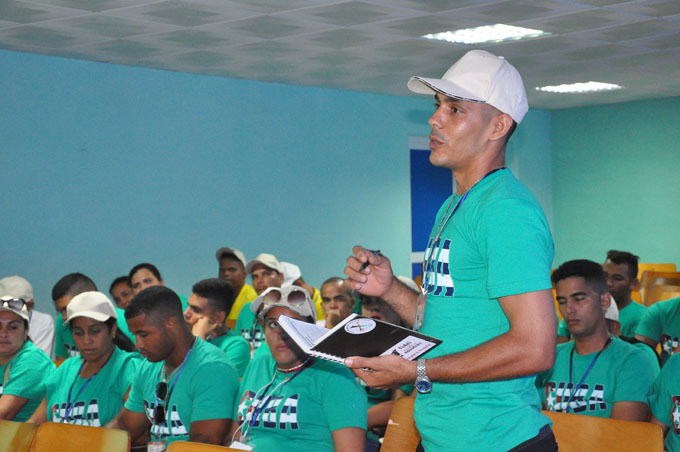 Debates en el Festival provincial de la Juventud y los Estudiantes (+ fotos y videos)