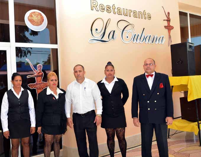 Imagen renovada de instituciones gastronómicas en Granma