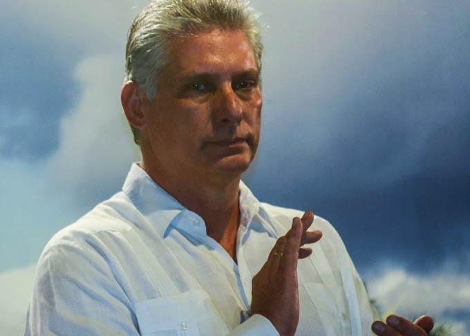 Felicitó Díaz- Canel al pueblo de Pinar del Río por sus logros