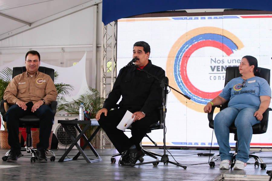 Exige Nicolás Maduro a EE. UU. cese de agresión contra Venezuela