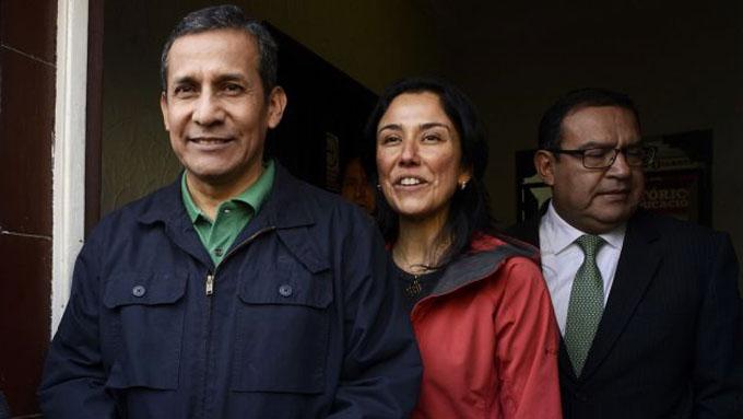 Ante corte de apelaciones expresidente peruano Ollanta Humala