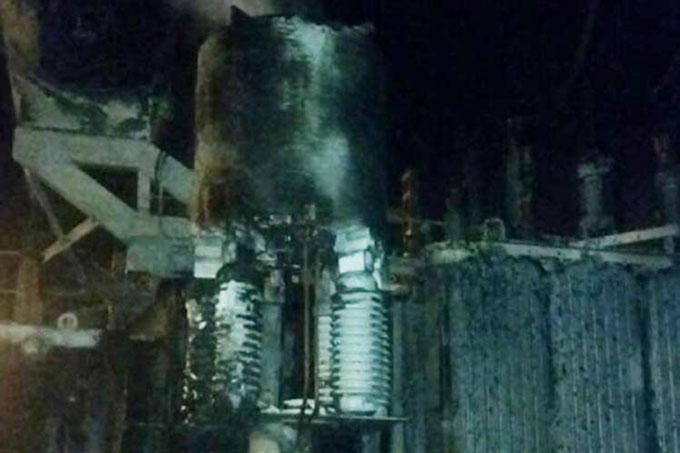 Grupos violentos venezolanos sabotean estación eléctrica en Maracaibo