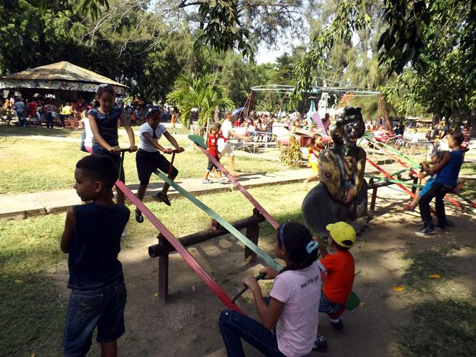 Fiesta  dominical para los niños