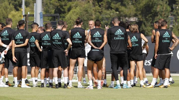 Zidane ya tiene resuelto el 'sudoku' de la plantilla