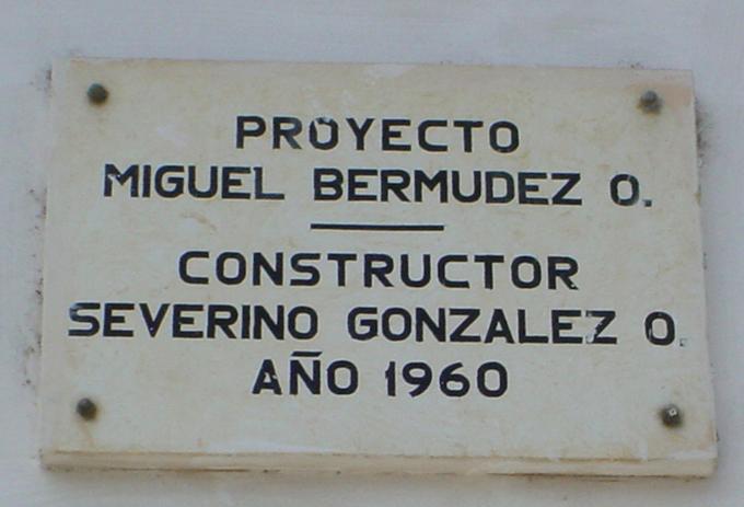 Rinden homenaje póstumo al arquitecto Miguel Bermúdez (+ fotos y audio)