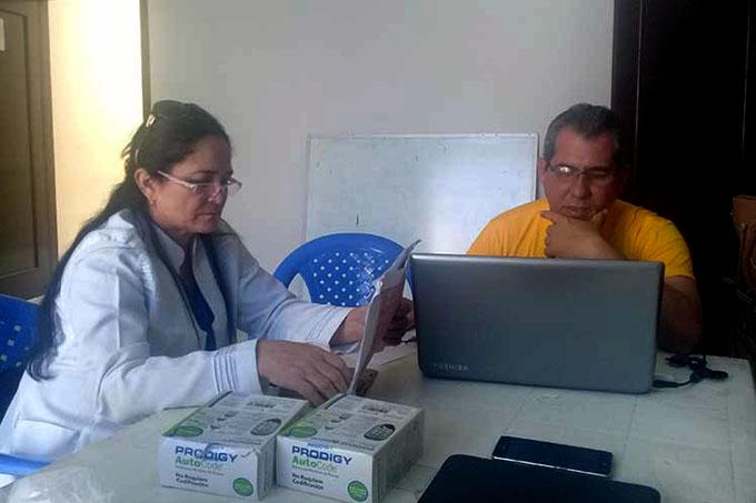 Médicos cubanos en Bolivia, consecuentes con su formación humana