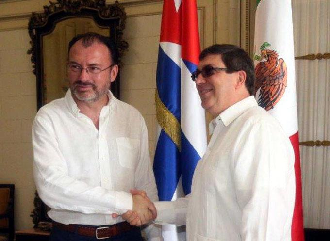Confirman Cuba y México voluntad de afianzar nexos bilaterales