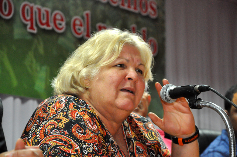 """No podemos perder la solidaridad"", Aleida Guevara (+ fotos y video)"