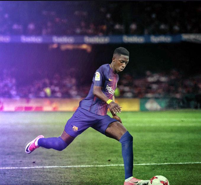 Barcelona anuncia fichaje del francés Dembelé