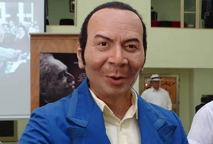 Luis Carbonell desde este domingo en el Museo de Cera de Bayamo (+ fotos y audio)