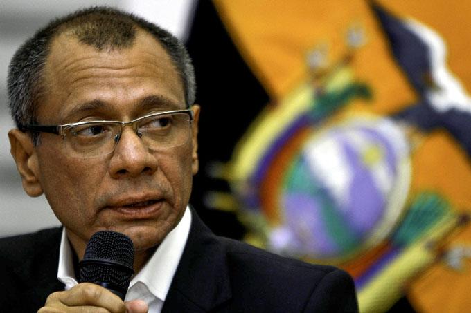 Nueva prueba contra Jorge Glas matiza vida política de Ecuador
