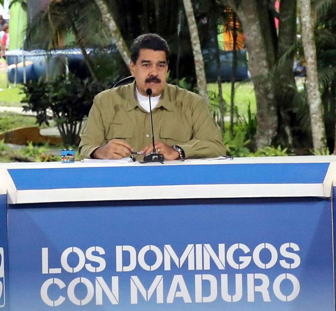 Denuncia Maduro complicidad de EE.UU. y Colombia en acto terrorista
