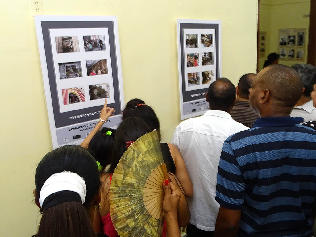 Inauguran exposición fotográfica dedicada a la conservación del patrimonio