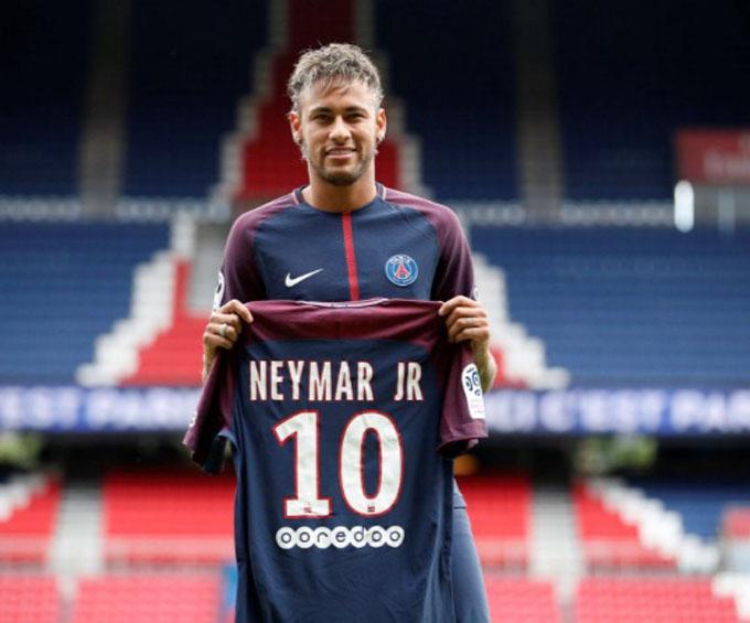 Neymar un paso adelante en el París Saint Germain