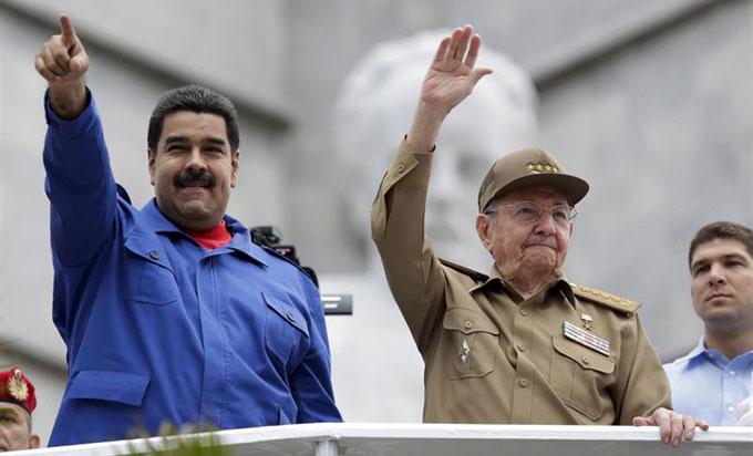 Mensaje de Raúl al Presidente de Venezuela, Nicolás Maduro
