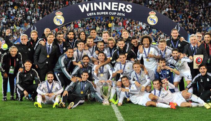 Real Madrid conquista Supercopa de España