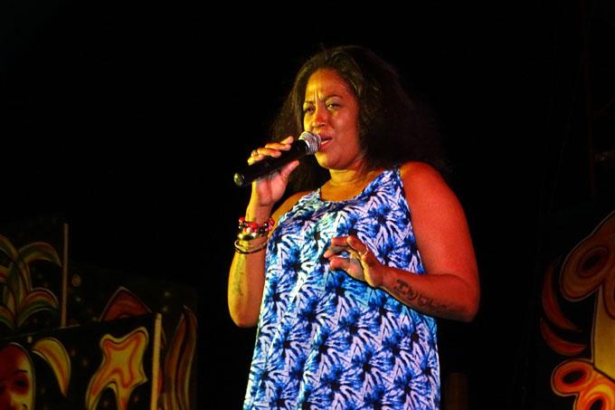 Vania Borges: Feliz de estar en Bayamo