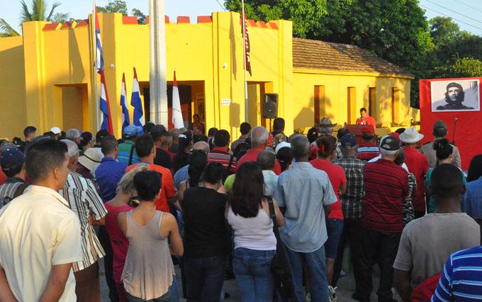 Rememoran ataque al cuartel de Bueycito (+ fotos)