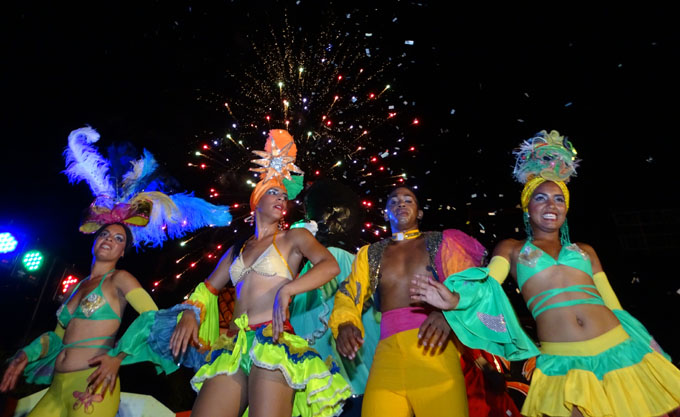 Abrió Carnaval Bayamo 2017 (+ fotos, audio y video)