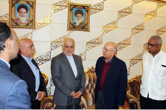 Delegación oficial cubana concluye visita a Irán