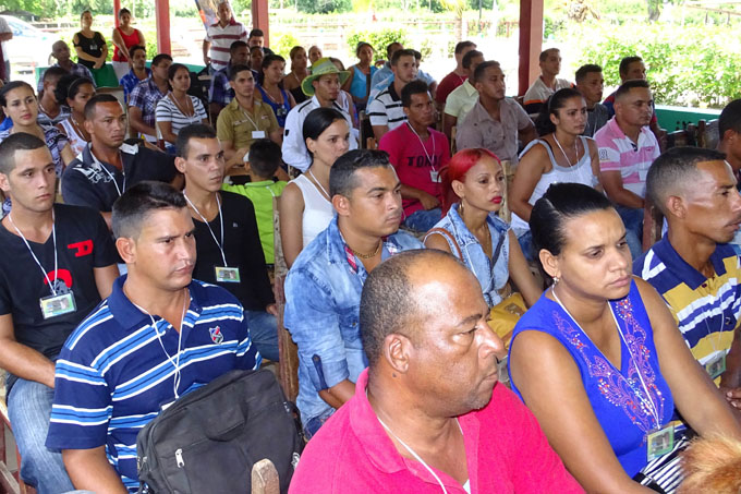Resaltan protagonismo de jóvenes en la Agricultura