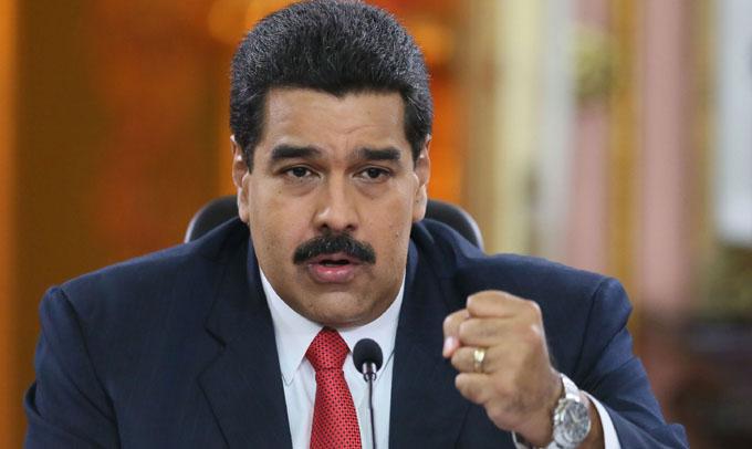 Maduro agradece muestras de solidaridad ante sanciones de EE.UU.