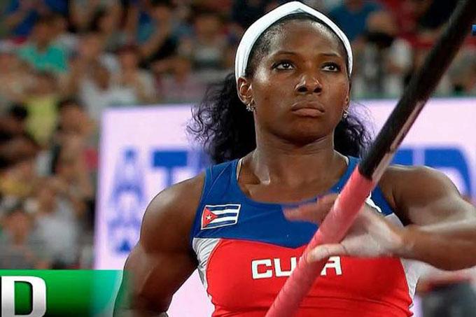Trío de cubanos hoy en apertura del Mundial de atletismo