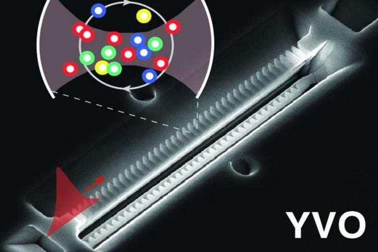Crean primera memoria cuántica para ser instalada en un chip