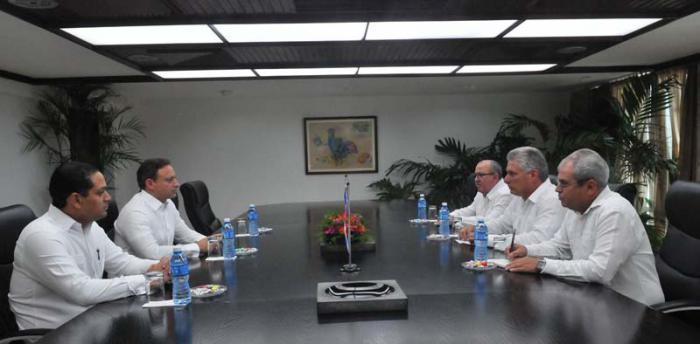 Recibió Díaz-Canel a Procurador General de República Dominicana