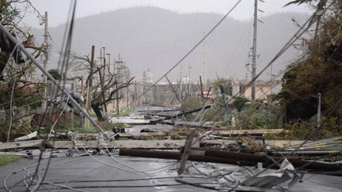 María se intensifica al nordeste de República Dominicana (+ fotos y video)
