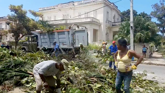 Cuba en plena recuperación (+ fotos y video)