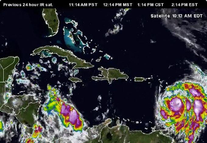 Huracán María se acerca al Caribe insular (+ video)